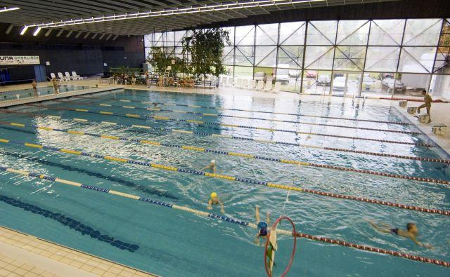 Zaradi energetske sanacije bodo od danes do predvidoma 1. septembra zaprti bazen Tivoli, fitnes Tivoli in Savna Zlati klub. FOTO: Voranc Vogel