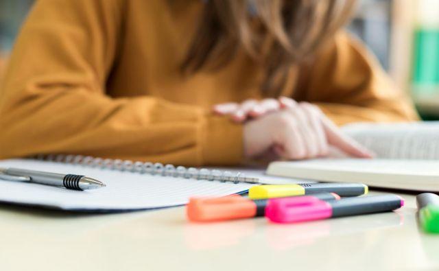 Pisanje in podčrtovanje v učbenikih iz učbeniškega sklada ni dovoljeno. FOTO: Guliver/thinkstock/Getty Images/istockphoto