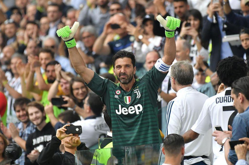 FOTO:Portret: Tudi legendarni Gianluigi Buffon zgolj (velik) človek