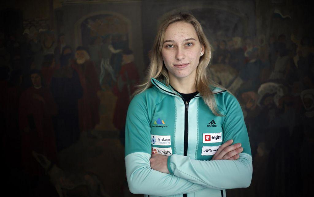 FOTO:Janja Garnbret:Motivacijo črpam izključno iz ljubezni do plezanja