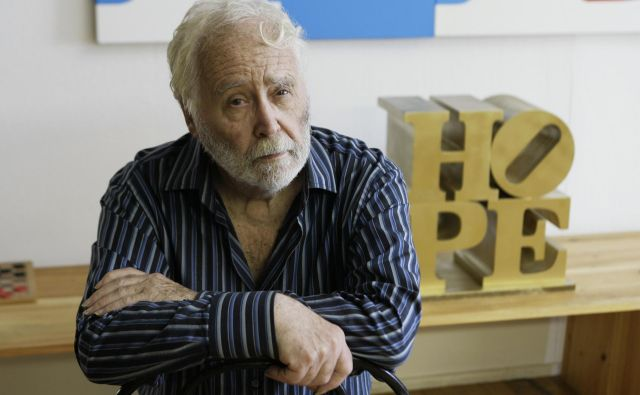Robert Indiana. FOTO: AP Pictures