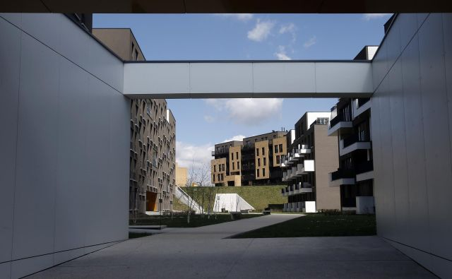 Stanovanjski sklad bo gradil nova stanovanja. FOTO: Blaž Samec/Delo