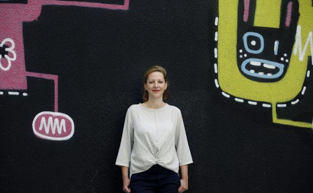 Ajda Pistotnik je med drugim avtorica poročila Slovenski javni dolg. FOTO: Blaž Samec