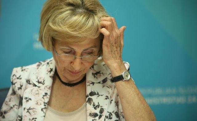 Ministrica Milojka Kolar Celarc FOTO: Jure Eržen/Delo