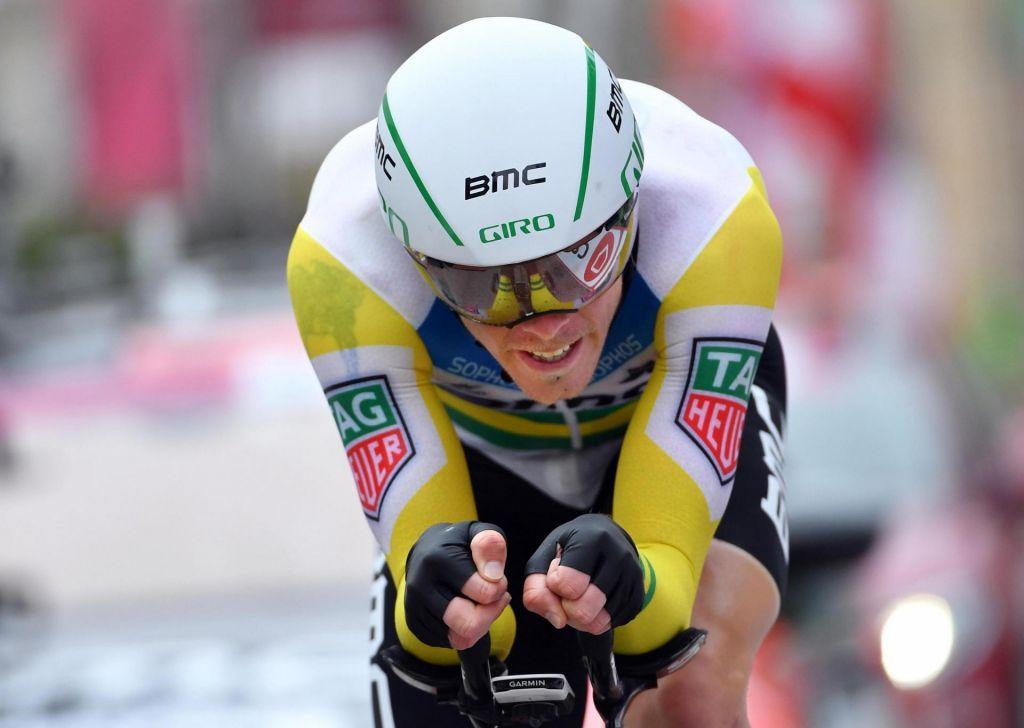 FOTO:Giro: tudi po kronometru Yates s skoraj minutno zalogo (VIDEO)