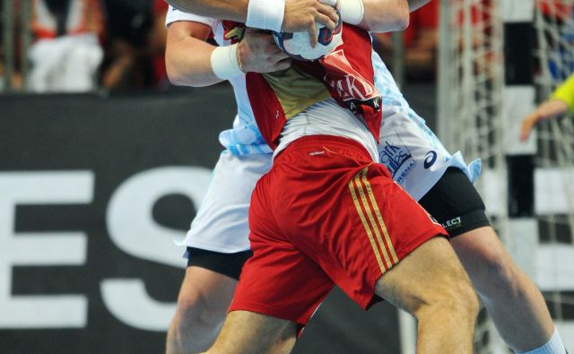 Matej Gaber ni bil prizanesljiv do igralcev Veszprema.