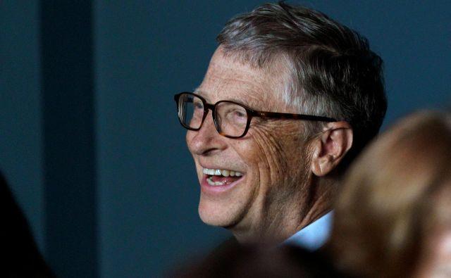Bill Gates ima dober okus za knjige. FOTO: Reuters/