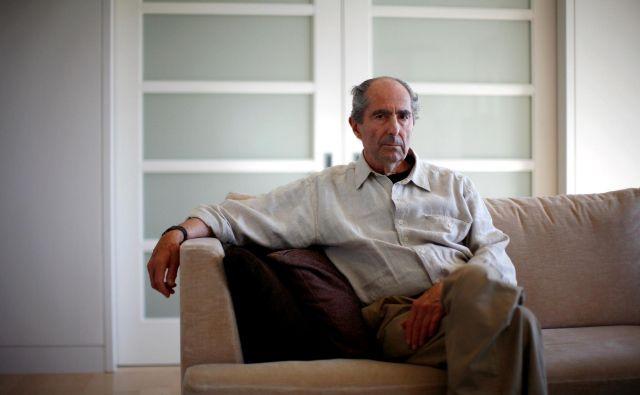 Roth je nacionalno knjižno nagrado prejel že pri 26 letih za roman <em>Zbogom, Columbus</em>. FOTO: Eric Thayer/Reuters