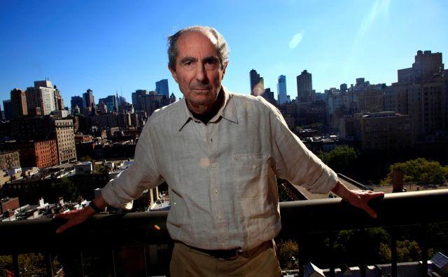 S Philipom Rothom je odšel eden zadnjih velikih ameriških romanopiscev. FOTO:Eric Thayer/Reuters