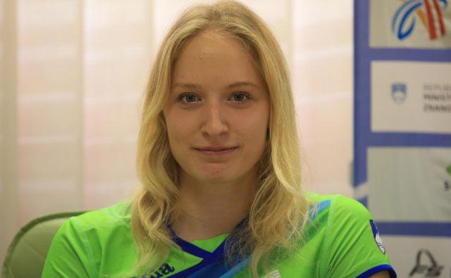 Agata Zupin je dosegla tudi normo na 400 metrov z ovirami. FOTO: Tomi Lombar/delo/