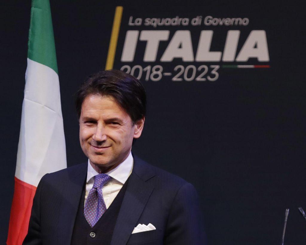 Conte dobil mandat za sestavo italijanske vlade