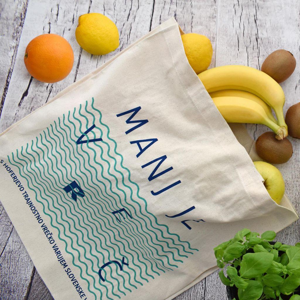 Veste, koliko plastičnih vrečk letno porabi povprečen Slovenec?