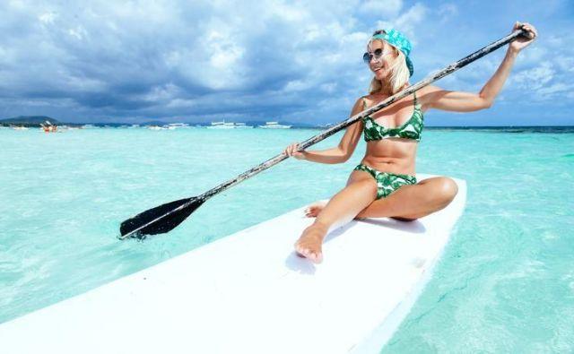 SUP – najbolj moden šport. FOTO: Shutterstock/