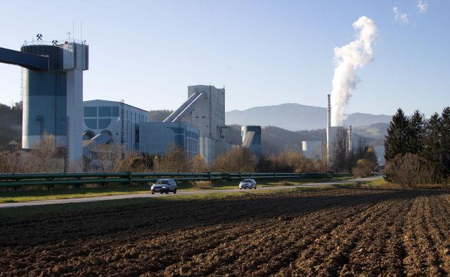 Toplovod med Termelektrarno Šoštanj in Velenjem. FOTO: Brane Piano