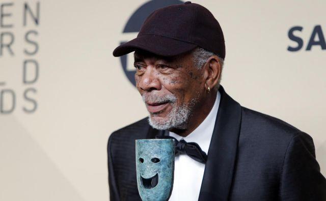 Freeman ima za seboj približno pol stoletja dolgo kariero. Leta 2004 je dobil oskarja za stransko vlogo v filmu Punčka za milijon dolarjev, svet pa ga pozna tudi v odmevnih vlogah v filmih Kaznilnica odrešitve in Šofer gospodične Daisy. FOTO: Monica Almeida/Reuters