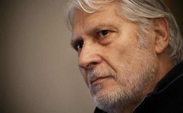 Boris Cavazza je zlati red za zasluge prejel za izjemen ustvarjalni opus.FOTO: Uroš Hočevar/Delo