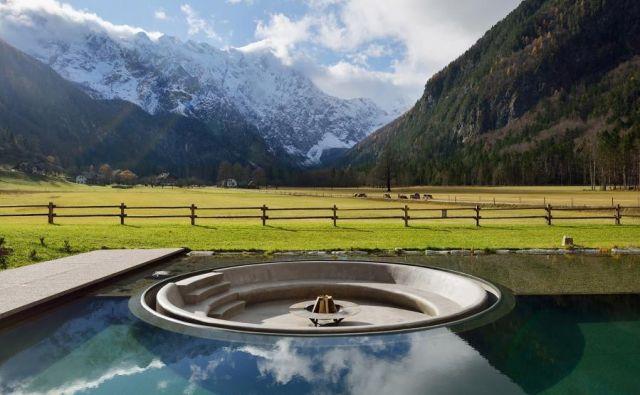 V kategoriji interierjev je Enota zmagala s hotelom Plesnik v Logarski dolini. FOTO: Miran Kambič