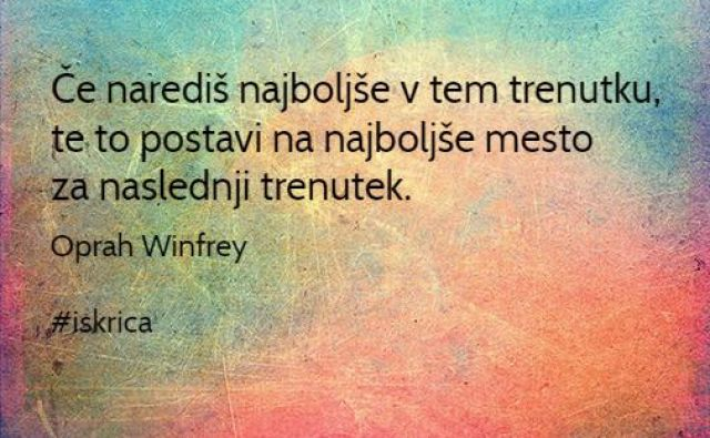 Petkova iskrica dneva FOTO: Oprah Winfrey/