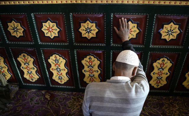 Cilj sinizacije veroizpovedi je preprečiti desinizacijo islama.FOTO: Tauseef Mustafa/AFP