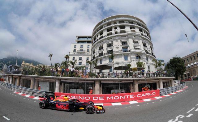Daniel Ricciardo je včeraj na treningu postavil rekord proge v Monte Carlu.