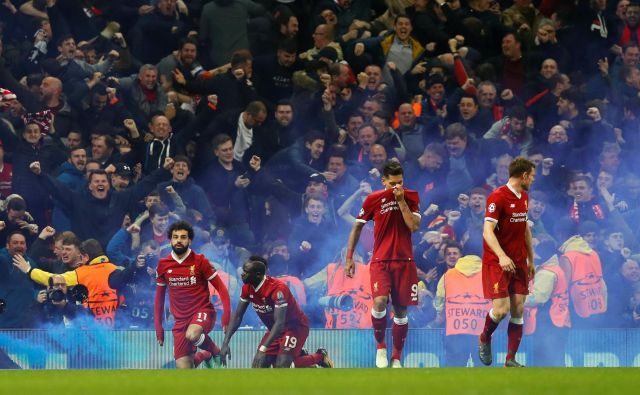 Liverpoolovo moštvo se nikdar ne vda.