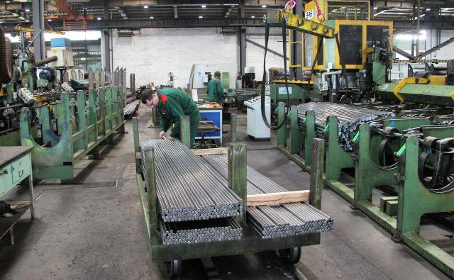 Proizvodnja v Štore Steelu FOTO: Brane Piano/Delo