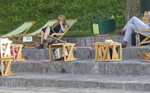 Začenja se sezona branja na prostem. FOTO: Tomi Lombar