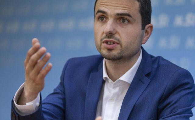 Matej Tonin, predsednik stranke NSi, je prepričan, da je v politiki čas za novo generacijo. FOTO: Voranc Vogel