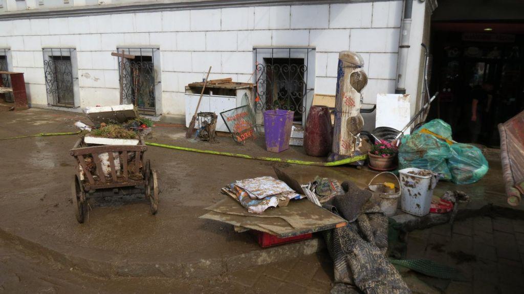 FOTO:Prevalje prizadele hude poplave (VIDEO)