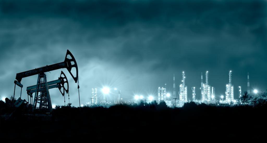 Padec cen nafte