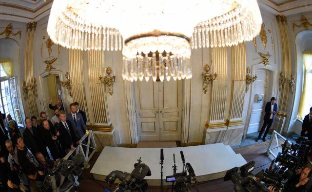 Heikensten je po pisanju francoske tiskovne agencije AFP poudaril, da leto 2019 nikakor ne predstavlja nekega roka, ko bo nagrada za literaturo ponovno podeljena. FOTO: Jonathan Nackstrand/Afp
