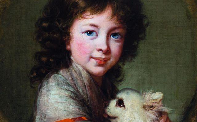 Élisabeth Louise Vigée Le Brun: Portret Elisabethe Isabelle Mniszech, 1797. FOTO: © Narodna galerija, Ljubljana