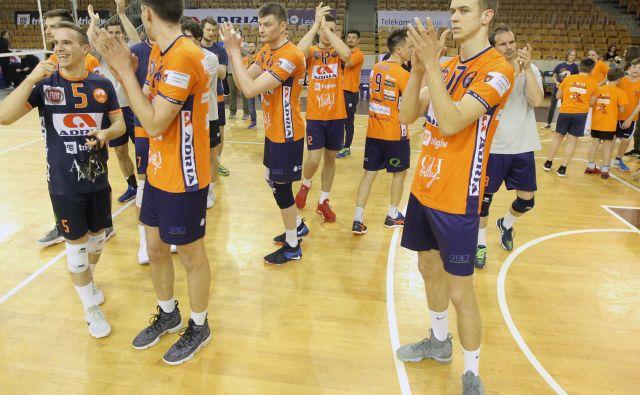 ACH Volley se vrača med elito. Foto Mavric Pivk/Delo