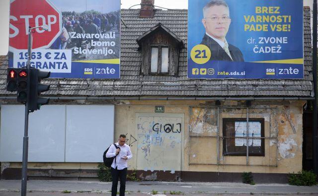 Leve stranke morajo zbrati parlamentarno večino, da bi izničile prednost SDS. Foto Jože Suhadolnik