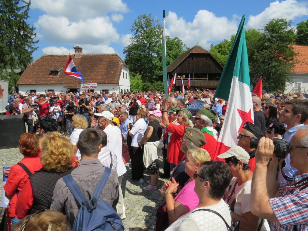 FOTO:»Slovenci ste temeljni kamen nove Evrope«