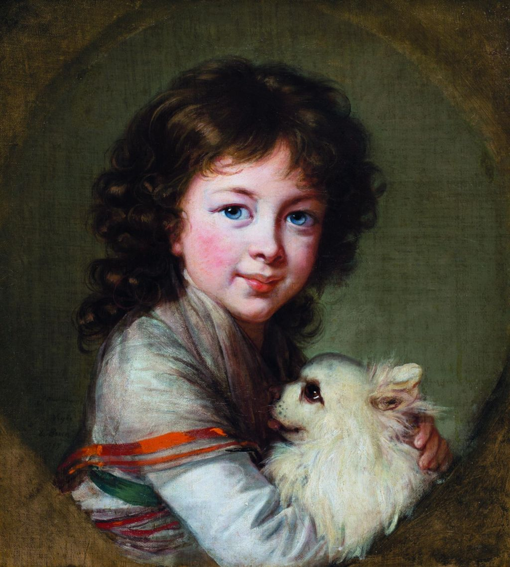 Portret Elizabethe Isabelle Mniszech, 1797