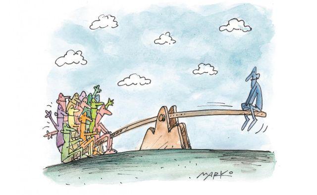 Karikatura: Delo