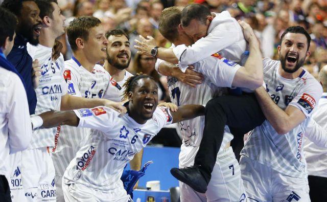 Rokometaši Montpellierja so presenetljivi zmagovalci lige prvakov. FOTO: Thilo Schmuelgen/Reuters