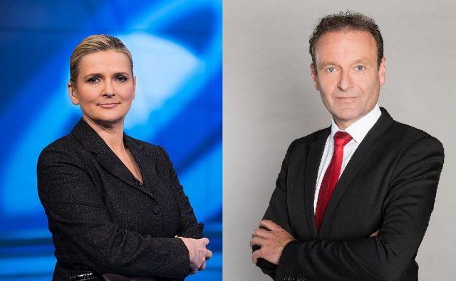 Tanja Gobec in Uroš Slak FOTO: Tvs In Pro Plus/