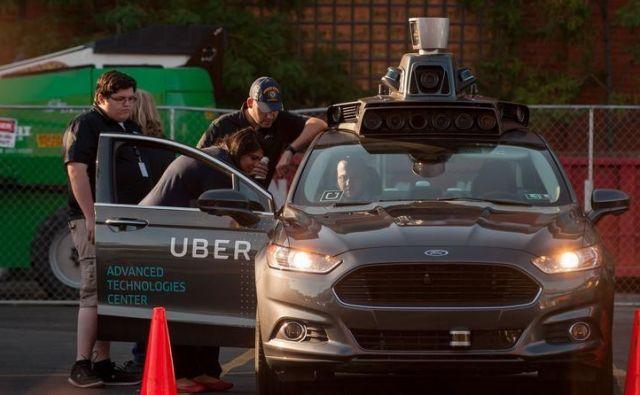 Uber razvija leteče taksije. FOTO: Afp/