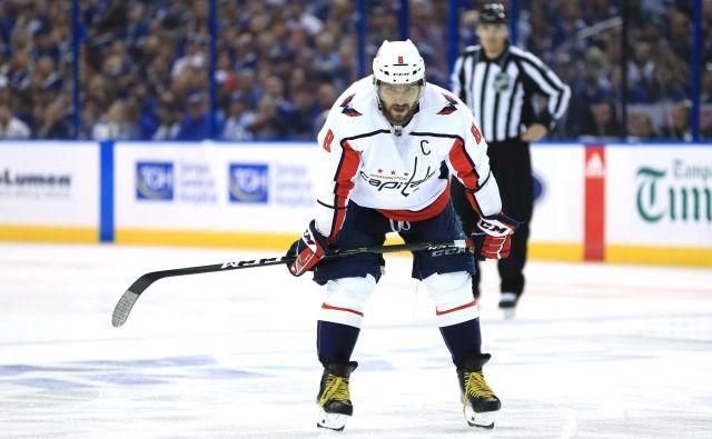 Aleksandr Ovečkin je od svoje selitve iz Moskve v Washington, leta 2005, čakal na nastop v finalu NHL. Foto AFP