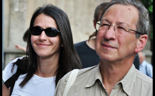 Lenka Kuhar Daňhelová in Peter Kuhar sta se spoznala v Velenju. Foto osebni arhiv