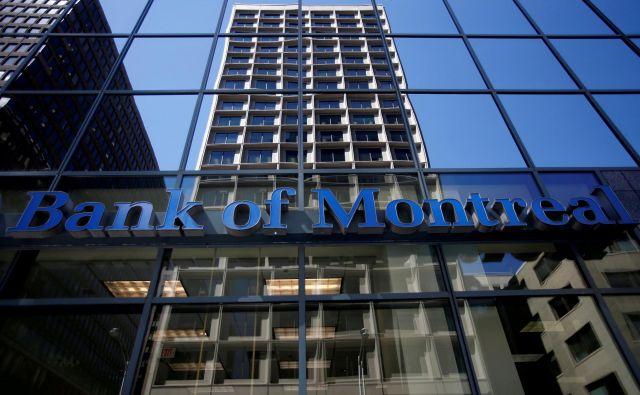 Pri Banki Montreala, ki je četrta največja posojilodajalka v Kanadi, so dejali, da so jih v nedeljo kibernetični goljufi sami obvestili, da posedujejo osebne in finančne podatke določenega števila njihovih strank. FOTO: Chris Wattie/Reuters
