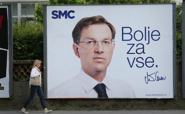 Stališča stranke SMC v raziskavi niso bila vedno skladna z ideologijo, ki jo zastopa.FOTO: Jože Suhadolnik/Delo