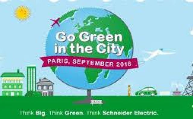 Go Green in the city Foto Schneider Electric