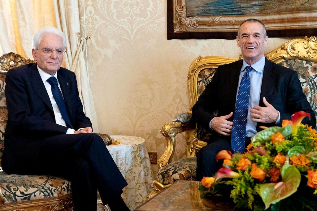 Cottarelli se je sestal s predsednikom Mattarello
