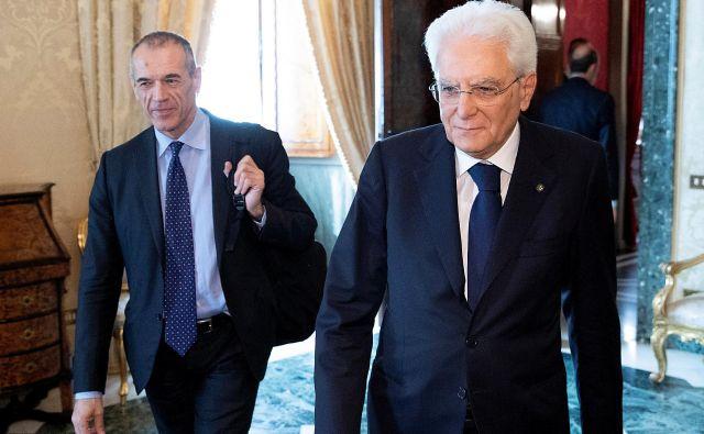 Mandatar in predsednik sta se dogovorila, da bodo stranke dobile še eno priložnost za sestavo vlade. FOTO: Reuters