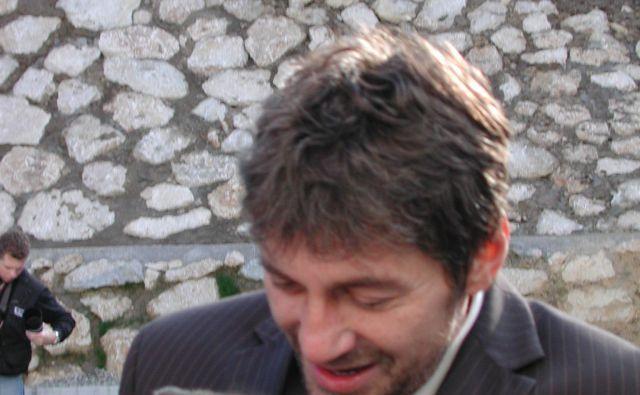 Bogdan Barovič, ko je bil župan Trbovelj. FOTO Polona Malovrh