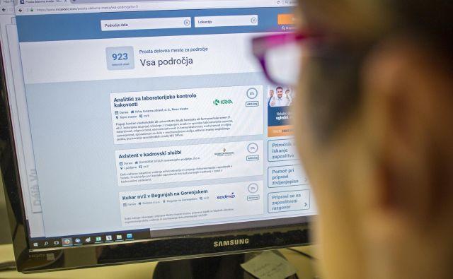 Najbolj trdovratna je brezposelnost med starejšimi in manj izobraženimi. FOTO: Voranc Vogel/Delo
