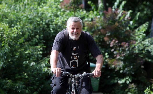 Pri kolesarjenju je z leti treba biti previden. FOTO: Igor Mali
